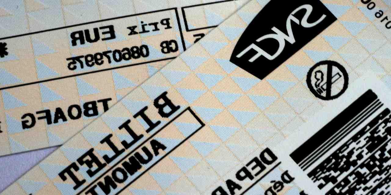 Comment payer son billet de train ?