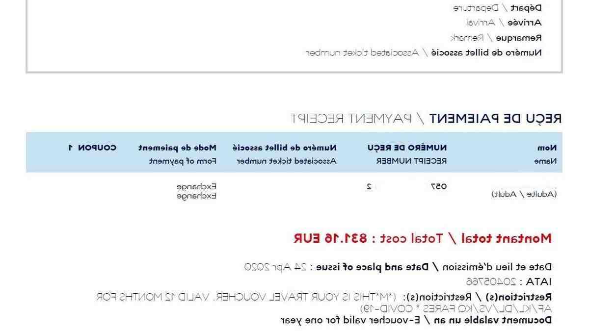 Comment se faire rembourser un billet d'avion non remboursable ?