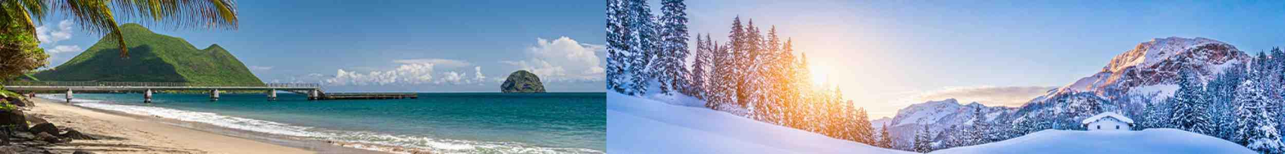 Où aller en hiver au soleil bon marché?