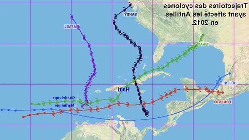Quelle est la période cyclonique aux Antilles ?