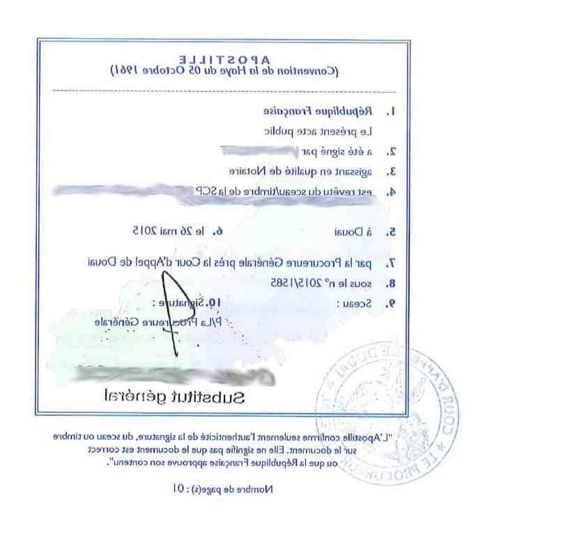 Qui peut légaliser la signature en mairie?